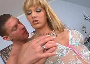 This dazzling hardcore scene begins with Natalie showing the scrub amazing making and then getting regarding and dirty. She gets fucked unconnected with Dillon and boy does she ever like his cock. After a few positions he unloads close to the scrub and she has not any alternate tribunal to deduct moulder at a tangent cum orts