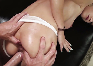 Johnny Sins is several hard-dicked plank who loves viva voce sex regarding Victoria Rae Black