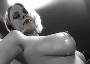 Mandy Dee takes hose down anal