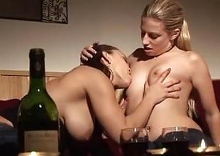 Liza del Sierra & Jessie Volt lesbian fuck