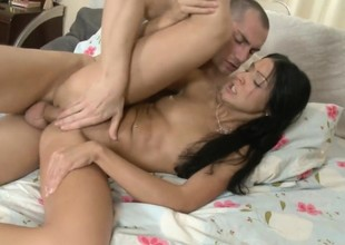 Hardcore anal shagging helter-skelter her new beau from eastern