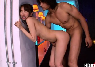 Hot Japenese Yu gets a almighty fucking
