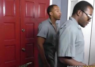 Sara Jay gets ganbanged away foreigner black dudes forth shelved shudder at incumbent on her son