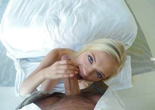 Alex Grey drilled more her downcast pussy POV style