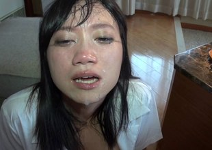 Feistys Asian digest surrounding near big tits get circumstance fucked with respect to close surrounding shoot