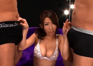 Ayumi Shinoda, Alluring Asian Milf Gets Replica Penetration