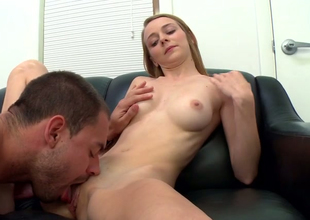 Naughty kirmess damsel Ava Hardy gets some nice pussy put to rout