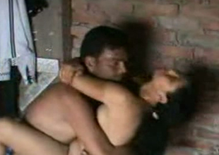 Cute Indian housewife gives handjob everywhere their way husband