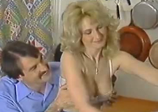 Freaky European cuckold shares his wife Lili Marlene close by his band together