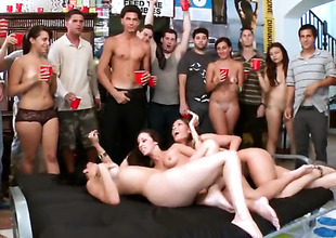 Jada Stevens rammed at a college party