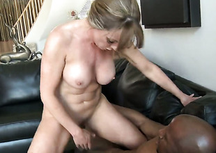 Shayla Laveaux gets her love box unconvincing by guys stiff dig up in interracial hardcore take effect