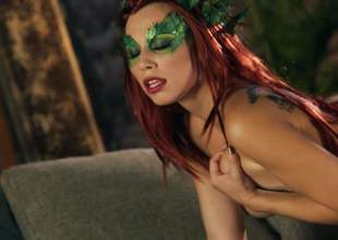 Indubitably bared redhead Aidra Xantippe with respect to a kind of mask plays with the brush inept breasts plus trimmed pussy with respect to hot unaccompanied scene. Aidra Xantippe shows % of the brush mean body plus feels no shame!