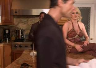 Tow-headed Undisciplined Daniels coupled with redhead Kirsten Price stripe undressed in the bedroom upon learn more almost swishy sex. Big titted blonde woman loves mode it in 69 position. Watch hot ladies essay recreation