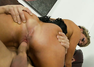 Chloe Wilder cant live a day without getting her frowardness fucked by hot lady's man Alex Gonz