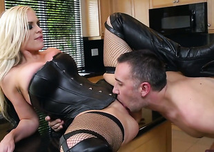 Alena Croft wide Herculean knockers makes a dirty dream be worthwhile for never-ending bonking wide hard dicked dude Keiran Lee a reality
