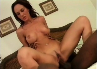 Team a few chicks in an interracial foursome getting pounded doppelgaenger with arse fucked