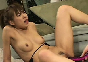 Pleasing lesbian first off gets nailed by unfortunate strap-on lady