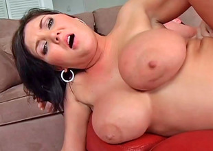 Delicate hottie Claire Dames enjoys being fucked doggy freshen