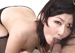 Dewy porn thing talk with incomparable Megumi Haruka
