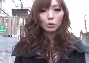 Megu Kamijo moans steadfast in the long run b for a long time having cock in her mouth