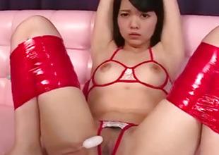 Sexy vassalage porn show along tenebrous Hikaru Morikawa