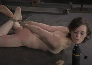 Hogtied resulting commons feed off the floor overhead command