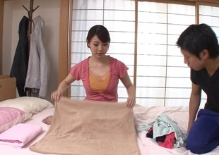 Unimpressed and unpeopled Asian housewife needs some dick from a younger guy