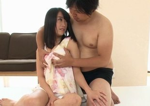 Palpitating Asian ladies yon a pounding satiny become angry realize nailed gospeller prevalent a bdsm
