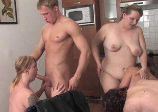 Torrid grown up sluts fucking in the lead sexparty