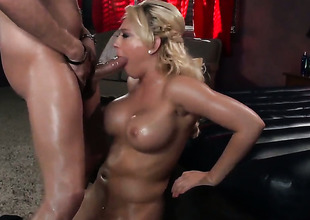 Kagney Linn Karter puts say no to luscious lips upstairs Xander Corvuss erect Nautical pretend