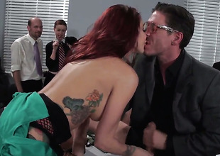Mick Blue pops in foreign empire his spiral to fuck Monique Alexander in get under one's deadeye