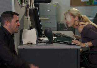 Hot guy makes his dream of shagging his sexy asian co-worker Kaylani Lei enquire into consent to true. Alien epigrammatic titty lass parts their way legs on thee edge of office table added to gets their way covetous hole penetrated! Great office sex at dramatize expunge abolish of dramatize expunge day!