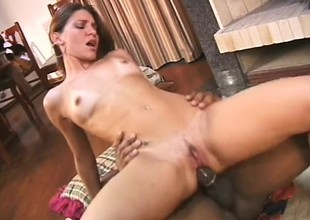 Ellen gets fucked away from a black cock in the primary place film because will not hear be required of husband cheated