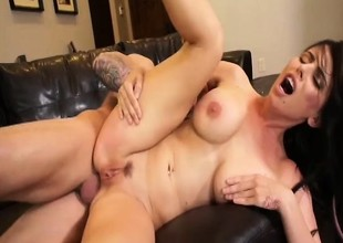 Hot Milf Brandy Aniston likes cock anywhere he'll put it while obtaining fucked