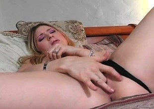Lovable young blonde Kayla Marie gets pounded deep by Sledge Hit the road drive off