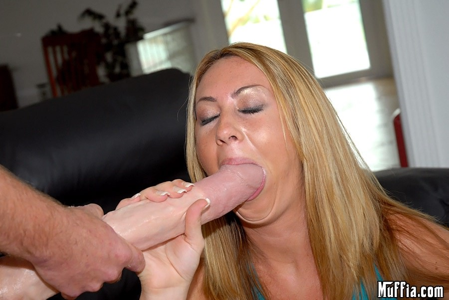 Hot blonde suck and ride big thick cock 5