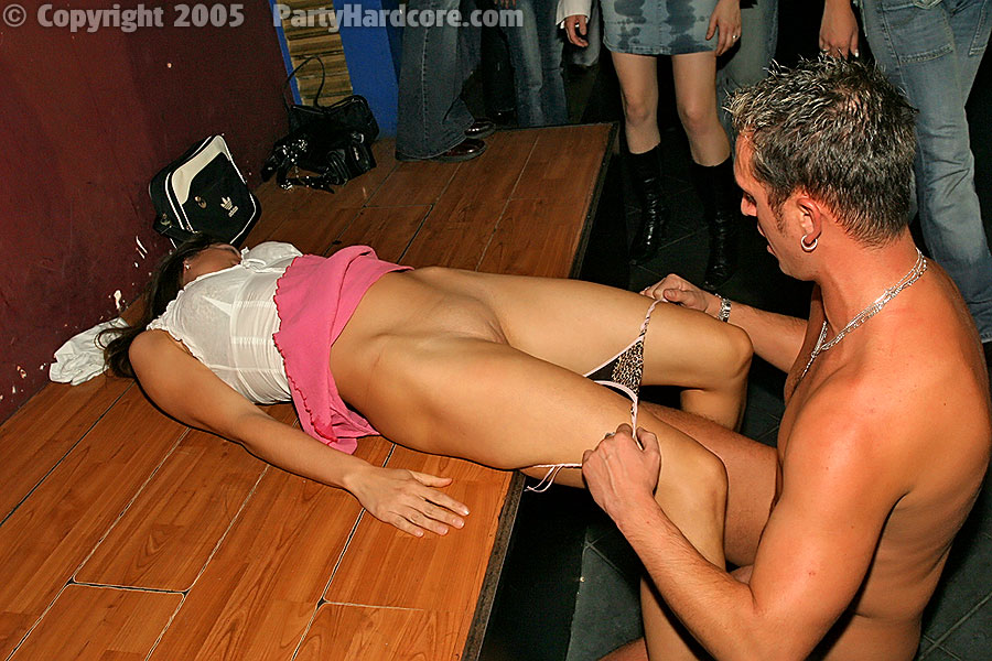 Horny at party